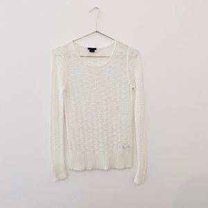 THEORY Open Knit Sweater